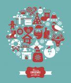 圣诞插画 — 图库矢量图片