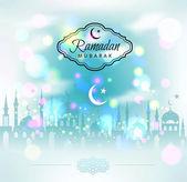Ramadan Mubarak background — Wektor stockowy
