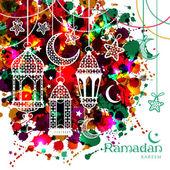 Ramadan Kareem background — Stock Vector