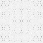 Geometry repeatable pattern, seamless vector background — Stock Vector