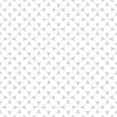 White geometric pattern, seamless background — Stock Vector