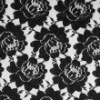 Lace with black flowers — Stock Photo #70285053
