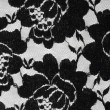 Lace with black flowers — Stock Photo #70559069