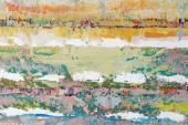 An artist's palette — Stock Photo