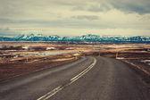 Iceland road — Stock Photo