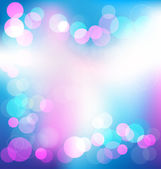 Colorful elegant abstract background with bokeh lights — Vector de stock