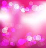 Pink elegant abstract background with bokeh lights — Wektor stockowy