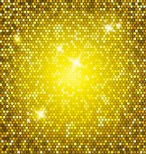 Golden glitter vector — Stock Vector