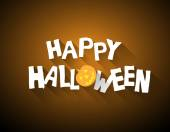Halloween achtergrond. — Stockvector