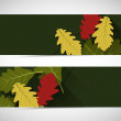 Autumn banners — Stock Vector #57574343