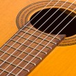 Musical background image of classical guitar — Stock Photo #59547329