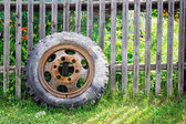 Old Tire — Stock Photo