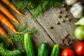 Fresh organic vegetable — Stock Photo