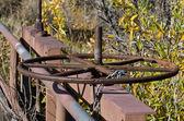 Old Rusty Valve Wheel — Stock Photo