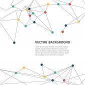 Polygonal background — Stock Vector