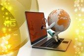 Global analyse — Stockfoto