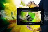 Futurystyczna technologia — Zdjęcie stockowe