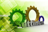 Tools and settings icon — Stock Photo