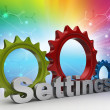 Tools and settings icon — Stock Photo #56193149