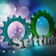 Tools and settings icon — Stock Photo #56196449