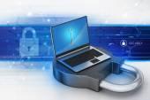 Internet security concept — Stock Photo