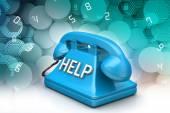 Help-desk-konzept — Stockfoto