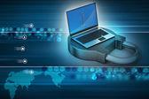 Internet güvenlik kavramı — Stok fotoğraf