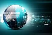 Digital globe — Stock Photo