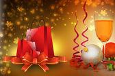 クリスマス パーティーのお祝い — ストック写真