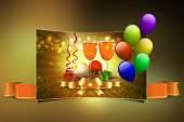 Christmas party celebration — Stockfoto