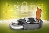 Concept de sécurité Internet — Photo