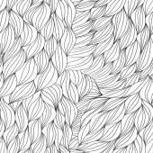Ondas cabello abstracto fondo Vector — Vector de stock