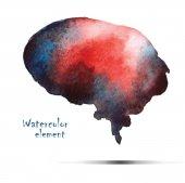 Watercolor design. — Stock Vector