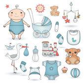 Bebek çocuk partisi — Stok Vektör