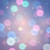 Abstract background, pied magic lights. — Vetor de Stock