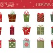 Christmas gifts — Stockvector  #56991875