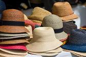 Pile Of Hats On Market — Stockfoto