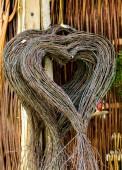 Weaved Hearts — Stock Photo
