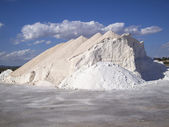 Mountain of salt — Stock Photo