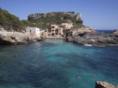 Cala Salmonia in Majorca, Spain — Stock Photo