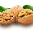 Tasty walnuts isolated on the white background — Stock Photo #51821549