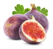 Figs fruits isolated on the white background — Foto de Stock