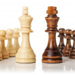 Chess figures isolated on the white background — Stock Photo #54234539