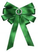 зеленый лук, изолированные на белом фоне. — Стоковое фото