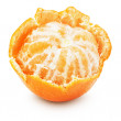 Juicy tangerine isolated on the white background — Stock Photo #59994895