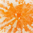 Juicy tangerine isolated on the white background — Stock Photo #59994897