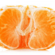Juicy tangerine isolated on the white background — Stock Photo #60709773