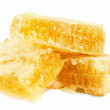 Honeycombs isolated on the white background — Stock Photo #66152608