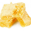 Honeycombs isolated on the white background — Stock Photo #66152620