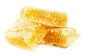 Honeycombs isolated on the white background — Zdjęcie stockowe